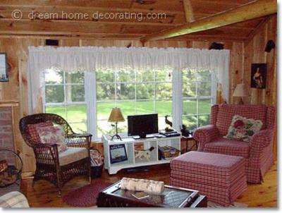 Country cabin decor a log cabin in canada for Home decor canada