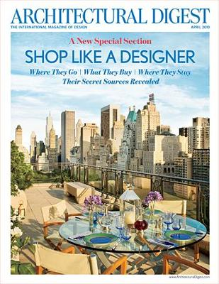 Architectural Digest, April 2010