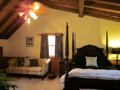 Master Bedroom Makeover on Log Home Master Bedroom Makeover