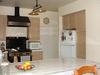 BEFORE: Cooker, cupboards, fridge