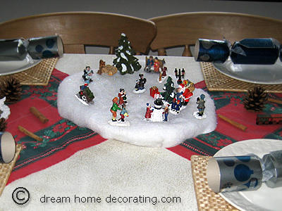 'Winter Wonderland' Christmas table